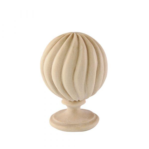 195/D Twist Reed Finial DecWOOD Carving | Decora Mouldings