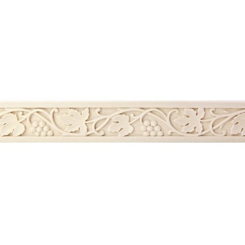196/D Small Vineleaf Linear Carved DecWOOD Strip Moulding | Decora Mouldings