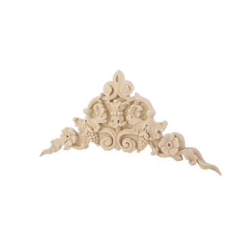 210/D Large Corner Grapes Flower DecWOOD Carving | Decora Mouldings