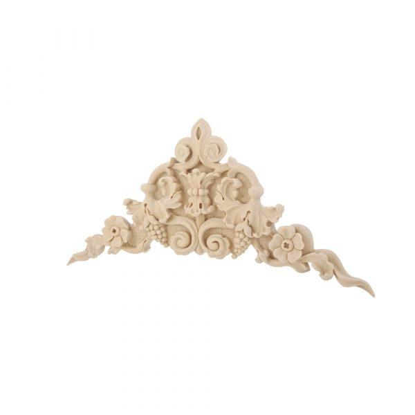 210/D Large Corner Grapes Flower DecWOOD Carving   Decora Mouldings