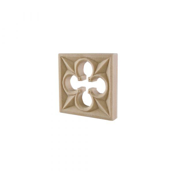 219/D Square Gothic Patrae DecWOOD Rosette | Decora Mouldings