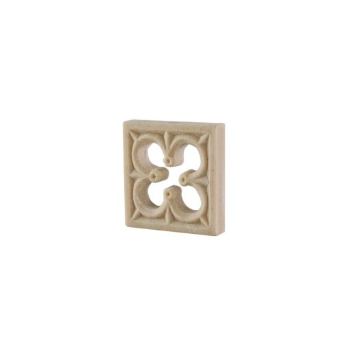 220/D Square Gothic Patrae DecWOOD Rosette | Decora Mouldings