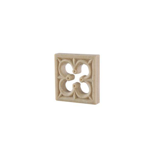 220/D Square Gothic Patrae DecWOOD Rosette | Decora Mouldings