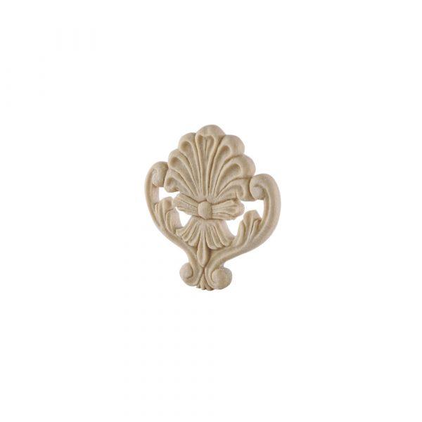 226/D Centre Crest DecWOOD Carved Applique   Decora Mouldings