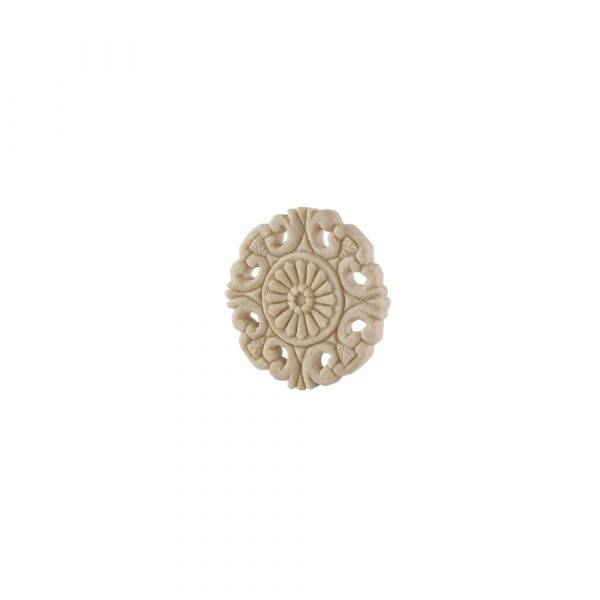 227/D Carved Round Patrae DecWOOD Rosette   Decora Mouldings