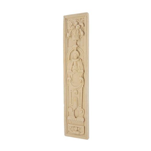 232/D Carved Elizabethan Female Plaque DecWOOD | Decora Mouldings