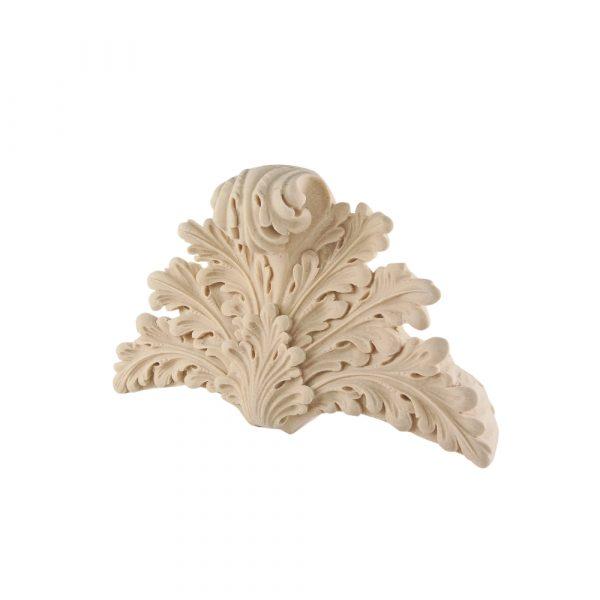 236/D Carved Leaf Pediment DecWOOD | Decora Mouldings