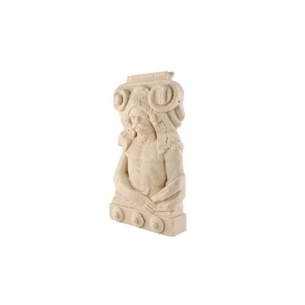 238A/D Ionic Figurine Plaque DecWOOD Carving | Decora Mouldings