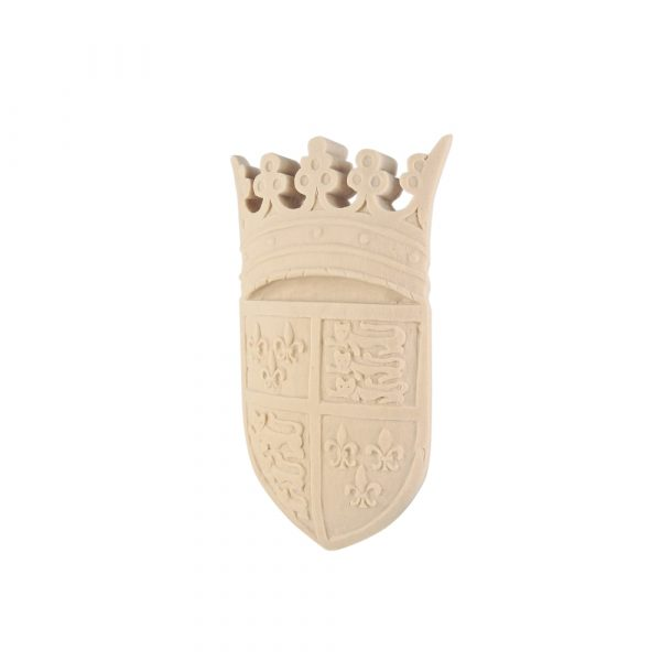 242/D Small Carved Shield DecWOOD | Decora Mouldings