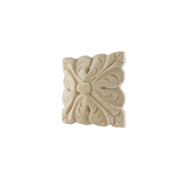 250/D Antique Carved Square Patrae DecWOOD Rosette   Decora Mouldings