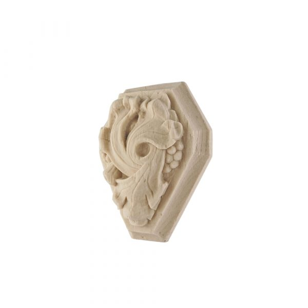 251/D Carved Block DecWOOD Applique   Decora Mouldings