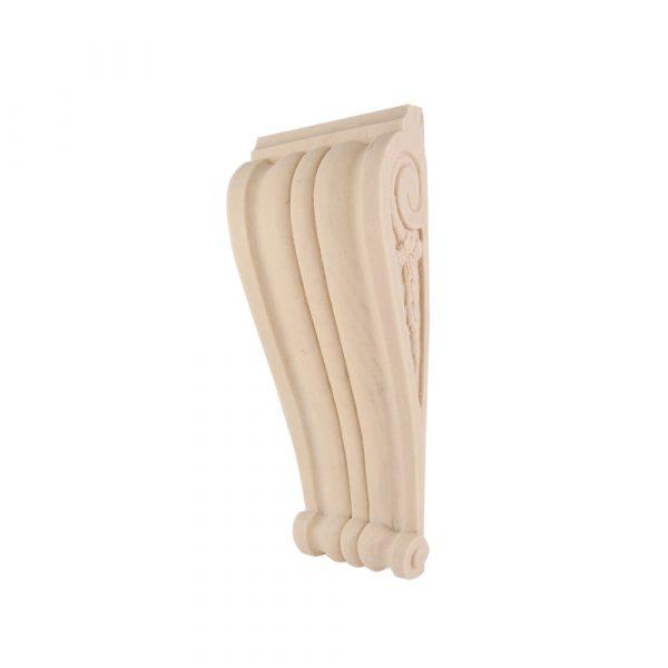 254/D Reeded Corbel DecWOOD Shelf Bracket   Decora Mouldings