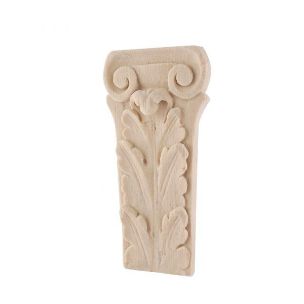 255/D Ionic Leaf Corbel Carved DecWOOD Shelf Bracket | Decora Mouldings