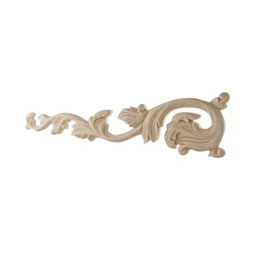 259/D Fretted Leaves (Pair) DecWOOD Carved Appliques | Decora Mouldings