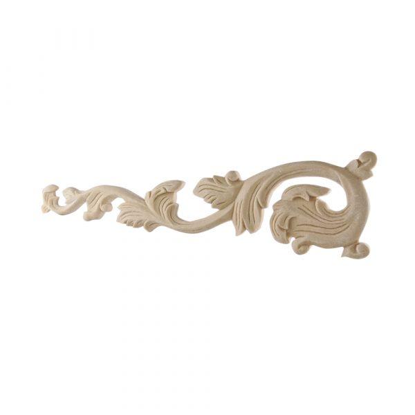 259/D Fretted Leaves (Pair) DecWOOD Carved Appliques | Decora Mouldings