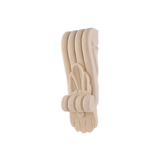 261/D Slim Shell Corbel Reeded DecWOOD Shelf Bracket | Decora Mouldings