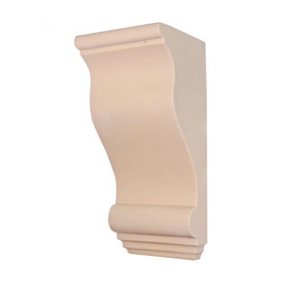 262/D Large Plain Corbel | DecWOOD Mouldings | Bespoke Plain Shelf Bracket | Decora Mouldings