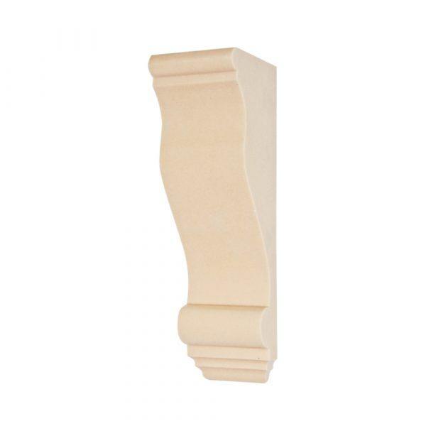 263/D Medium Plain Corbel | DecWOOD Mouldings | Bespoke Plain Shelf Bracket | Decora Mouldings