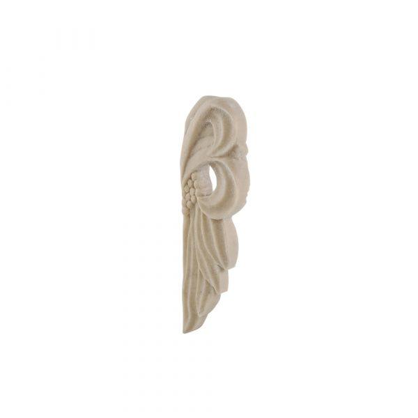 289/D Leaf & Berry Carving (Pair) DecWOOD Applique | Decora Mouldings