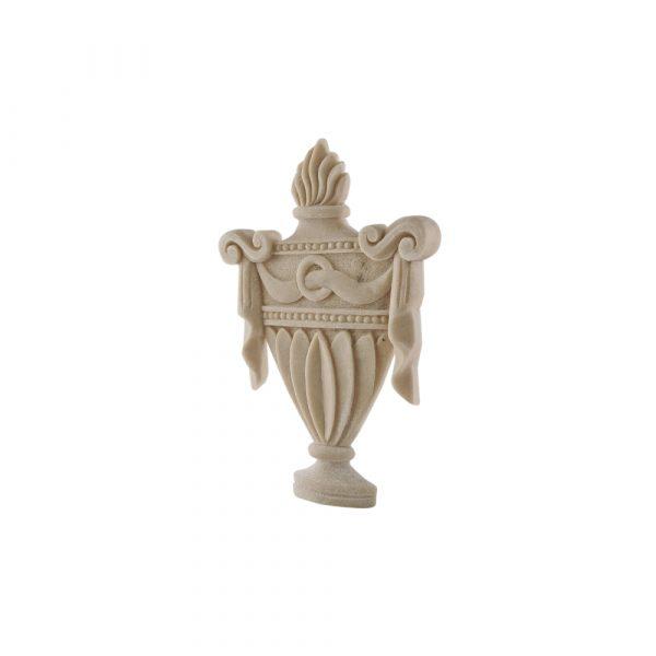 296/D Carved Urn DecWOOD Centre Applique | Decora Mouldings