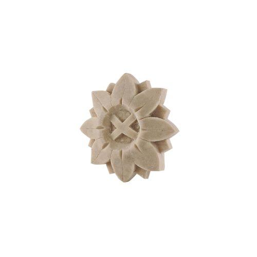 297/D Round Flower Patrae DecWOOD Carved Rosette | Decora Mouldings