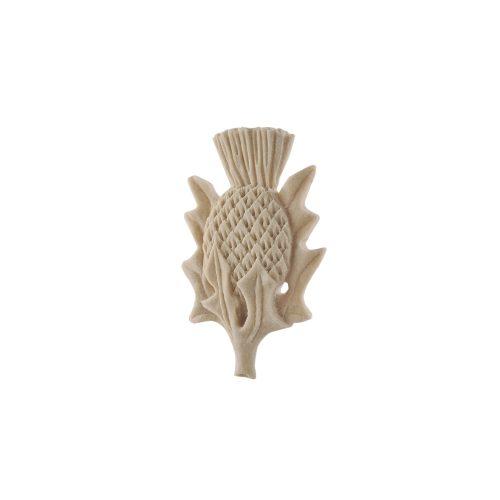 300/D Carved Thistle DecWOOD Applique | Decora Mouldings