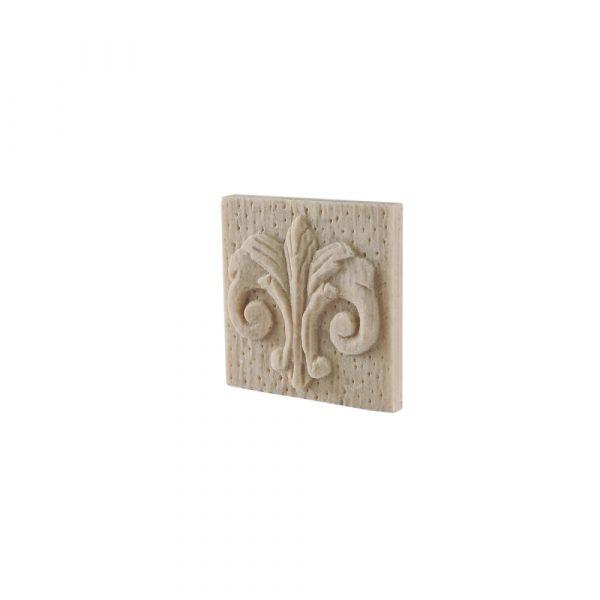 317/D Square Ionic Patrae DecWOOD Applique | Decora Mouldings