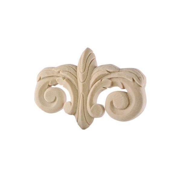 320/D Ionic Carved Centre DecWOOD Applique | Decora Mouldings