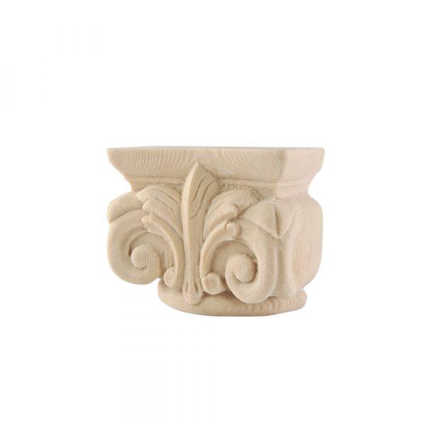 321/D Small Ionic Capital DecWOOD Carving   Decora Mouldings