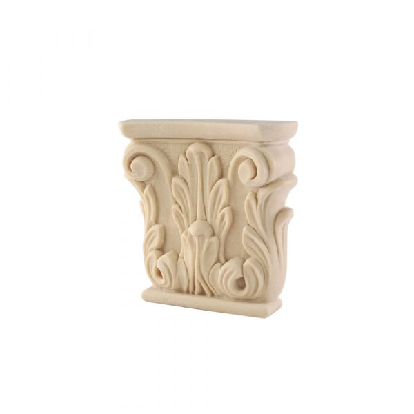 333/D Carved Ionic Scroll Capital DecWOOD | Decora Mouldings