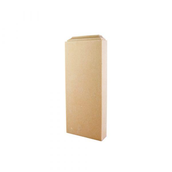 334/D Column Base Block DecWOOD Decora Mouldings