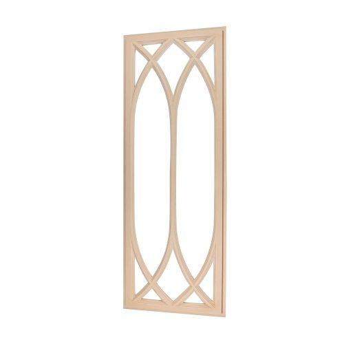346/D Glazing Panel Bespoke Kitchen Door DecWOOD | Decora Mouldings