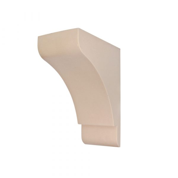 355/D Shaker Style Corbel Shelf Bracket   DecWOOD Mouldings   Bespoke Plain Corbels   Decora Mouldings