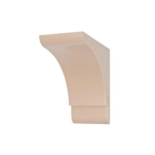 358/D Shaker Style Classical Corbel | DecWOOD Shelf Bracket | Bespoke Plain Corbels | Decora Mouldings