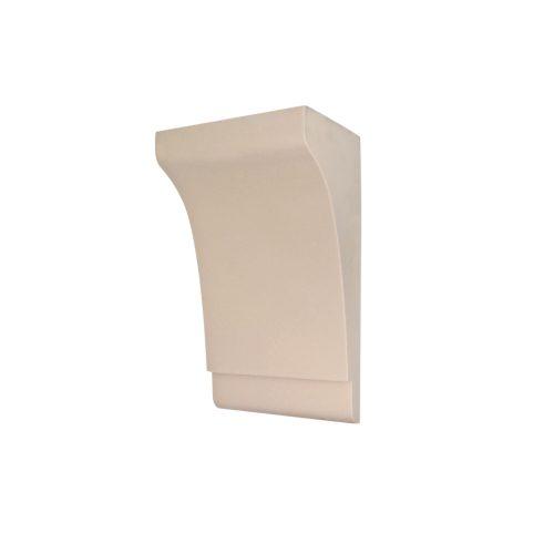 364/D Large Classsic Shaker Style Corbel   DecWOOD Shelf Bracket   Bespoke Plain Corbels   Decora Mouldings