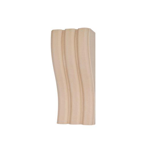 366/D Reeded Fluted Corbel - Grained DecWOOD Shelf Bracket | Decora Mouldings