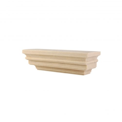 370/D Column Top Pine Grained DecWOOD Capital | Decora Mouldings