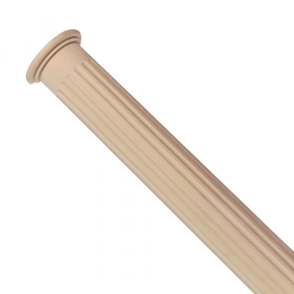 372/D Fluted Half Column DecWOOD | Decora Mouldings