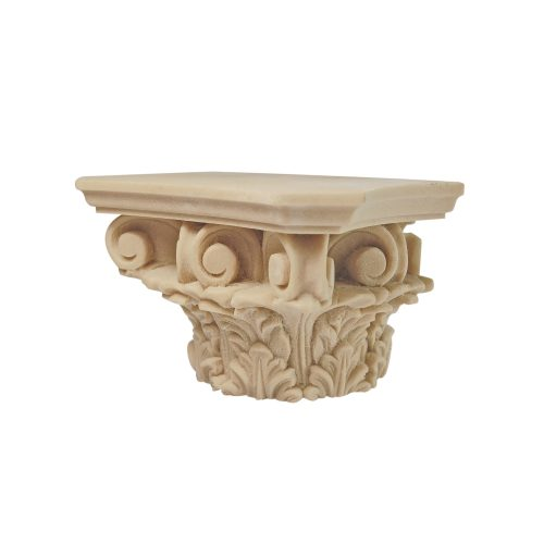 373/D Corinthian Capital Acanthus Leaf Scroll DecWOOD Capital | Decora Mouldings