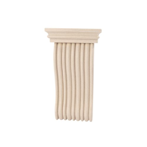 396/D Shallow Reeded Corbel DecWOOD Shelf Bracket | Decora Mouldings