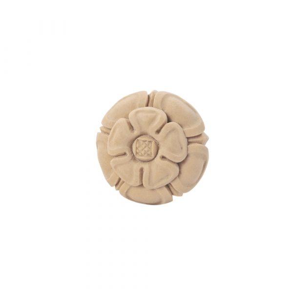 401/D Tudor Rose Roundel DecWOOD Round Flower Rosette | Decora Mouldings