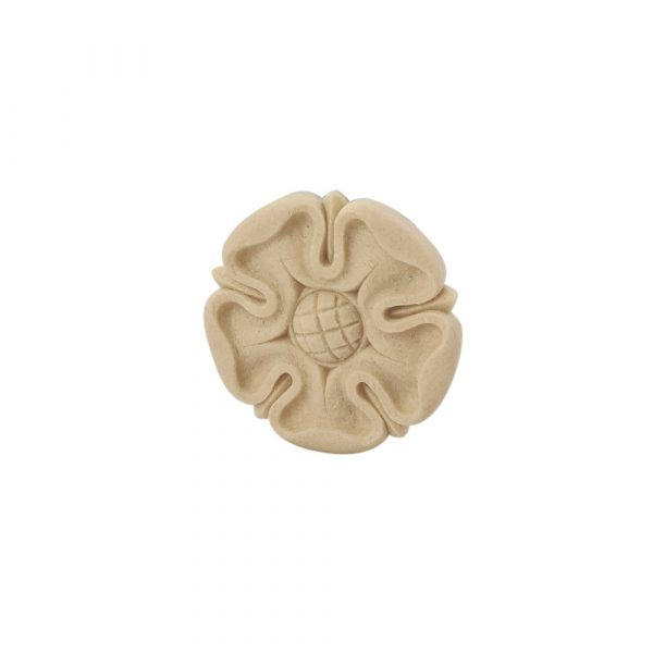 404/D Tudor Rose Patrae DecWOOD Rosette Applique | Decora Mouldings