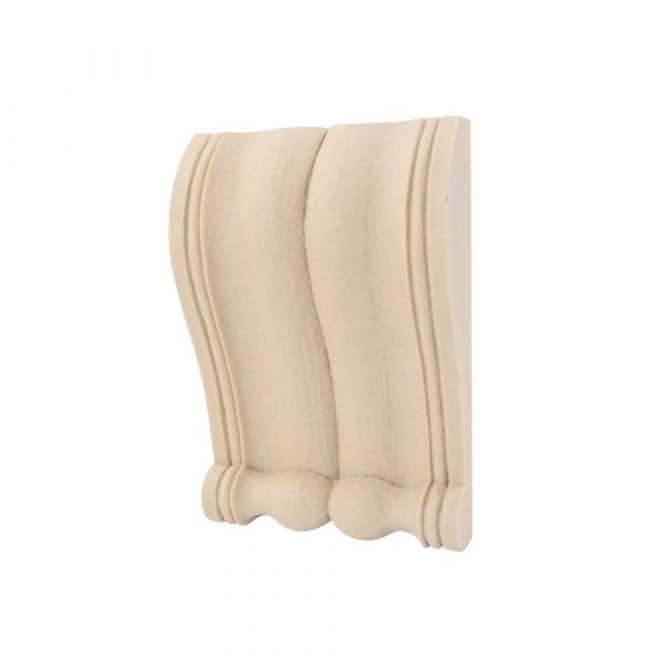 410/D Shallow Reeded Corbel DecWOOD Shelf Bracket | Decora Mouldings
