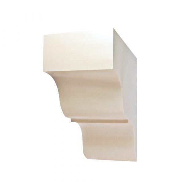 413/D Oversized Corbel | DecWOOD Mouldings | Bespoke Plain Shelf Bracket | Decora Mouldings