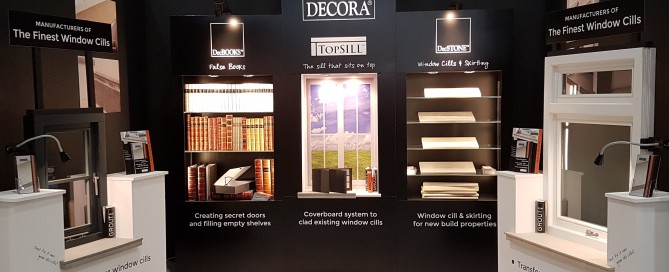 Decora Mouldings at Grand Designs Live 2017 TOPSILL & DecSTONE