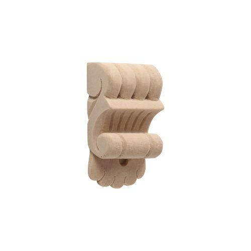 007/D Small Knuckle Applique Corbel - Decora Mouldings