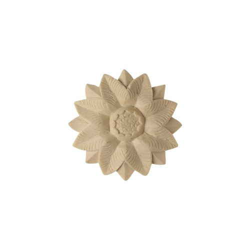 017/D Classical Sunflower Rosette - Decora Mouldings
