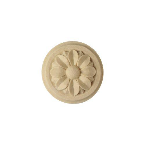 039/D Circular Flower on Plinth - Decora Mouldings