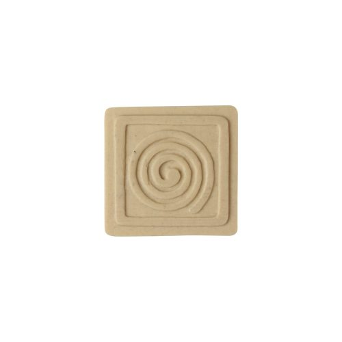 041/D Spiral in Square Patera - Decora Mouldings