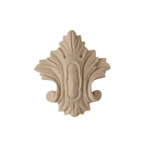 052/D Small Cartouche Crest - Decora Mouldings
